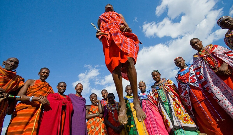 Discover the land of Maasai and its wildlife